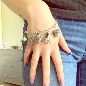Jewelry - Vintage Monopoly Piece Charm Bracelet